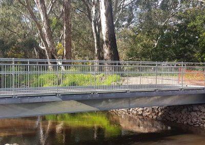 Friendlies Pedestrian Bridge